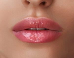 Modelowanie ust zbliżenie